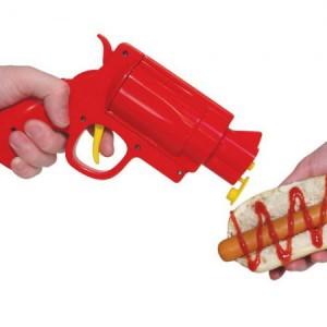 distributeur du ketchup