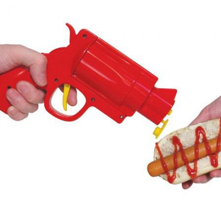 Pistolet distributeur de ketchup for Pistolet cuisine