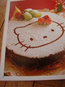 pochoir à gâteau Hello Kitty