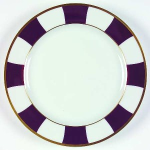 assiette Bernardaud - Galerie Royal