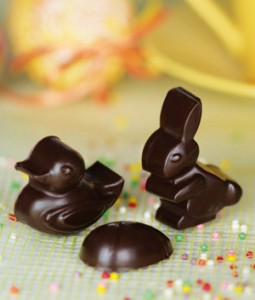 moule chocolats de Pâques