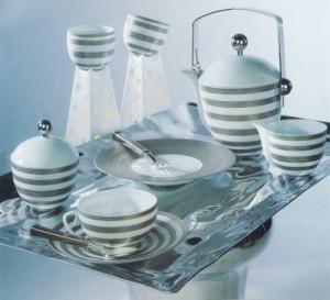 service de table Hémisphère - Coquet