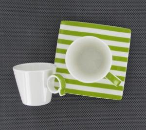 tasse à café à rayures Bruno Evard