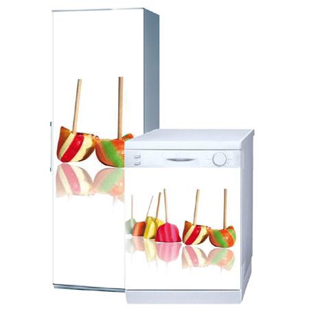 stickers pour lave vaisselle et réfrigérateur