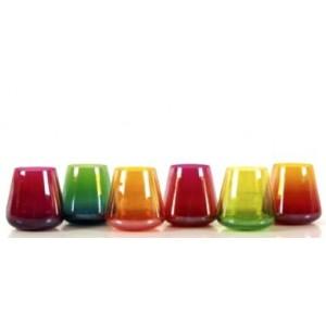 verres à whisky haut en couleur