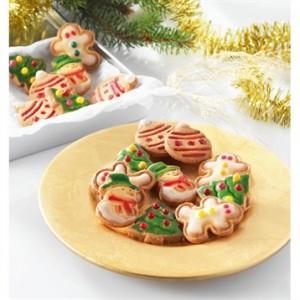 découpoirs à ressort pour biscuits de Noël