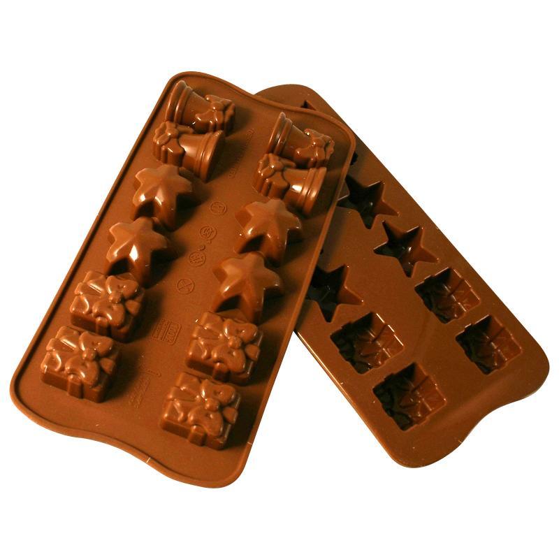 moule chocolats de Noël en silicone
