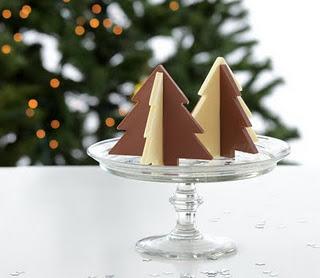 moule sapin de Noël en chocolat en 3D