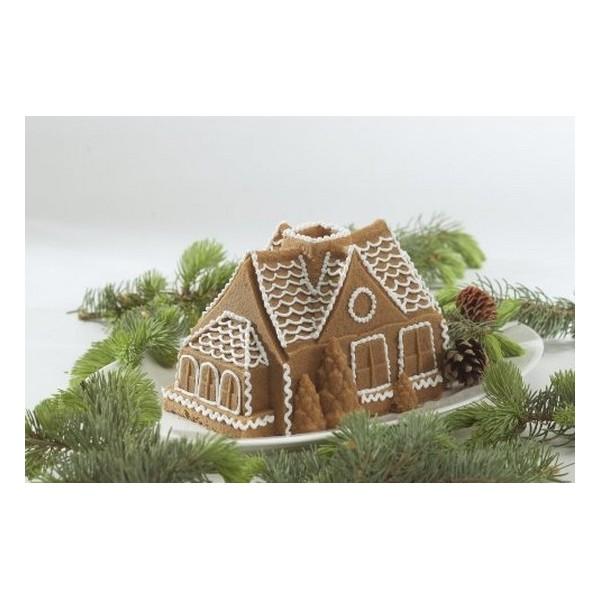moule maison de pain d'épice en 3D