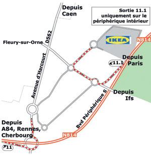 Ikea caen adresse