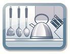 Meubles et ustensiles de cuisine